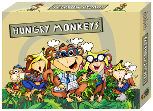 Hungry Monkeys box