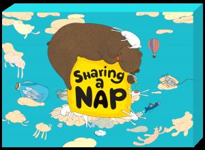 sharing a nap box