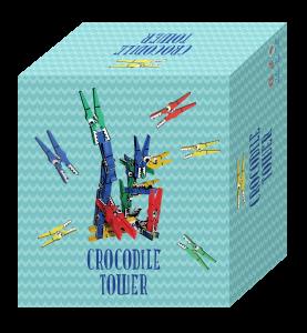 Crocodile Tower box