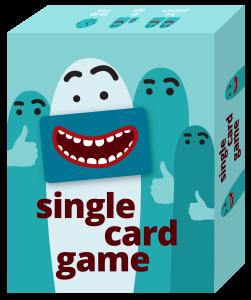 Single Card Game box